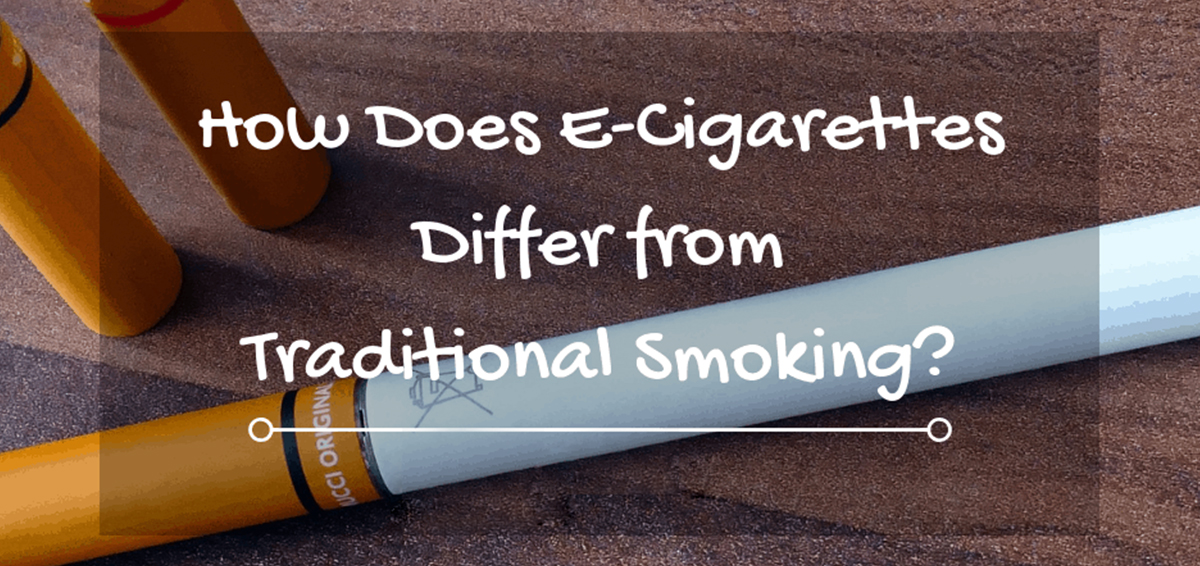 What's The Difference Between E-Cigarettes And Smoking
