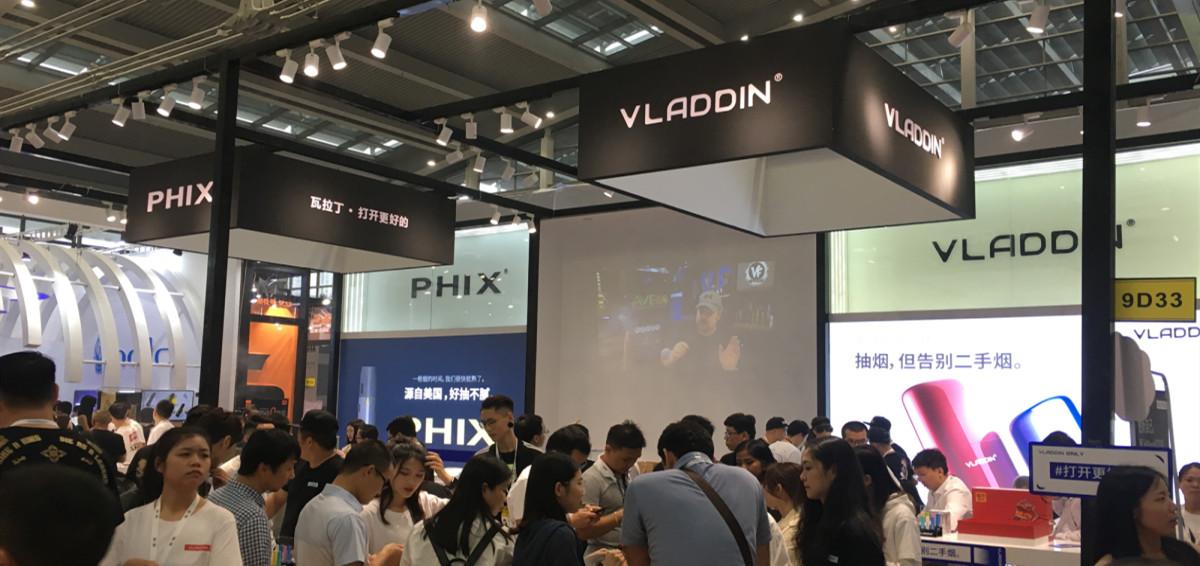 Vladdin Moment in Shenzhen IECIE 2019 Vape Expo