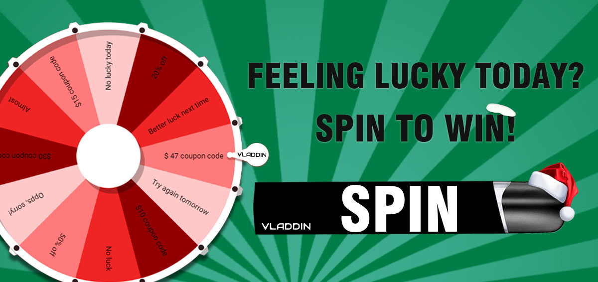 Spin To Win | Christmas Gifts from Vladdinvapor.