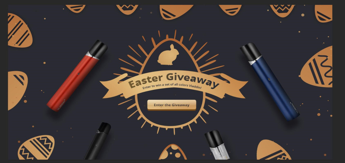 Win Vladdin Luxury Easter Giveaway