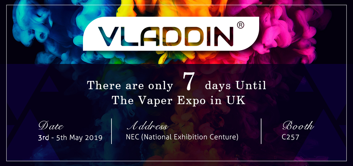There Are Only 7 Days Until The Vaper Expo In The UK