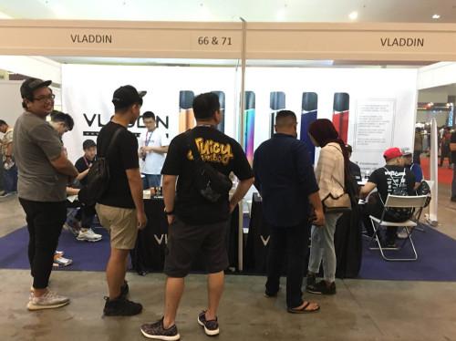 vladdin in Malaysia booth!