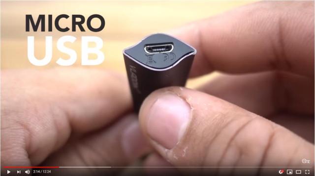 Vladdin battery micro USB