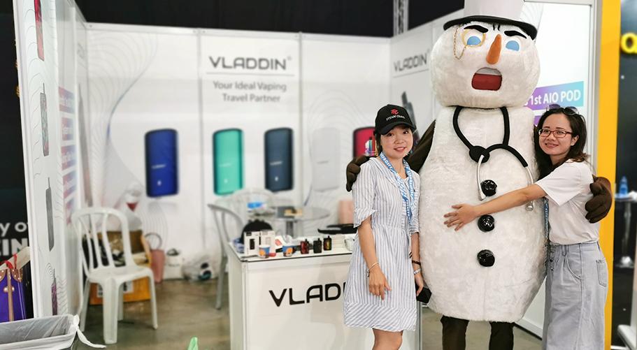 The Best Pod System of Vape Expo Israel ——VLADDIN Slide-2