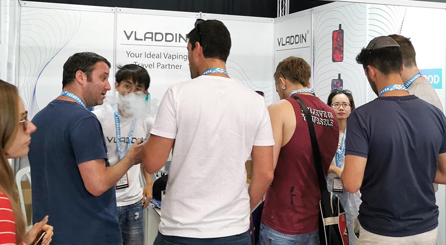 The Best Pod System of Vape Expo Israel ——VLADDIN Slide-3