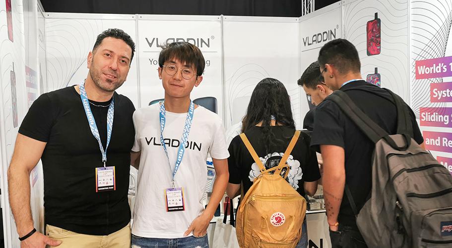 The Best Pod System of Vape Expo Israel ——VLADDIN Slide-4
