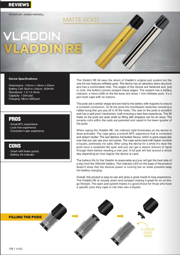 Vladdin review from Vapouround