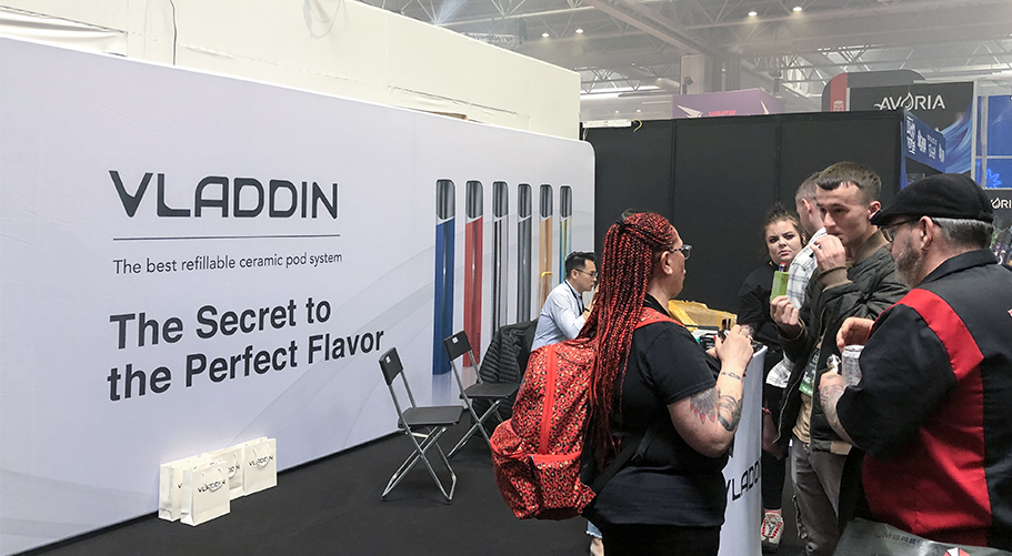 vladdin in vape expo uk