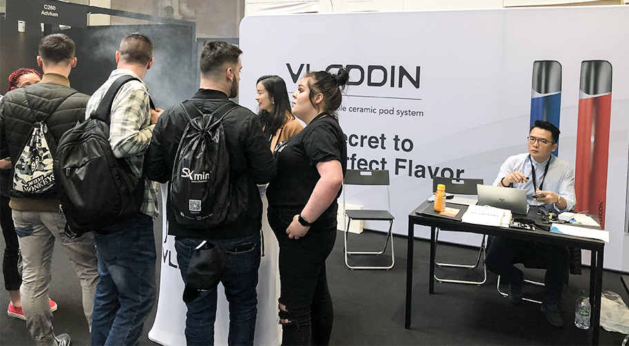 2019 vladdin re in vape expo UK