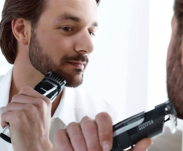 philips vacuum beard trimmer