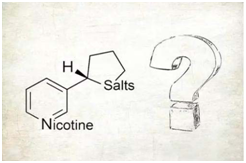 structure of nicotine salt