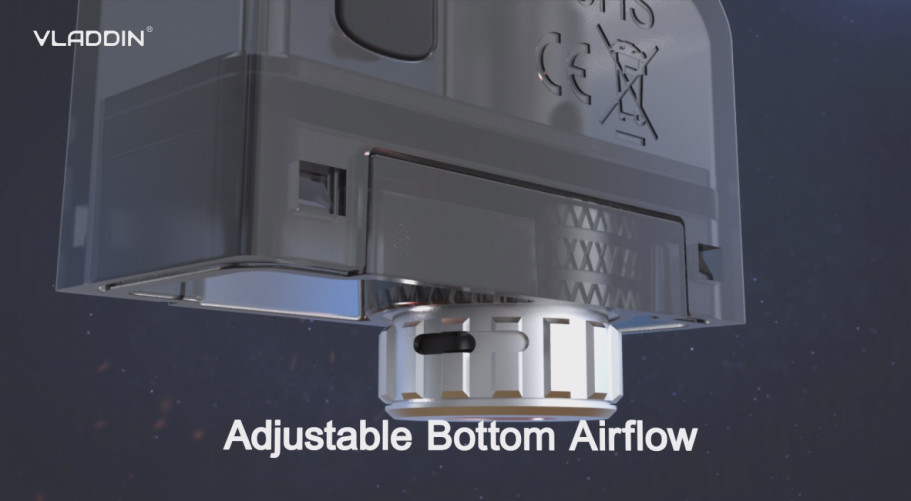 adjustable bottom airflow